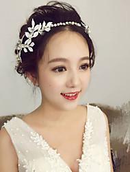 Tissu en cristal en alliage en strass-mariage spécial occasion tiaras extérieur épingle à cheveux 1 pièce