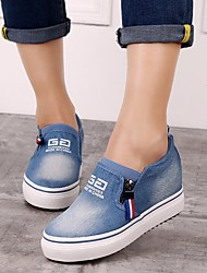 Women's Sneakers Spring Comfort Canvas Casual Navy
