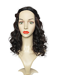 Brown Long Wig Deep Wave Wig Natural Wigs Wigs Synthetic Wig Women Costume Wigs Cosplay Wigs