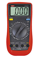 Ammeter multitester uni-t ut151a gamme manuelle moderne multimètre numérique lcd ac / dc volt amplificateur ohm capacitance tester