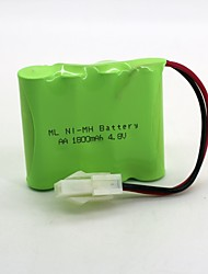 Ni-mh Battery  AA 1800mAh 4.8v