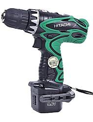 Hitachi 9.6v carregamento furadeira 10mm screwdriver broca ds9dvf3