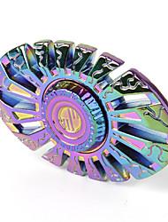 Toupies Fidget Spinner à main Jouets Ring Spinner Métal EDCSoulagement de stress et l'anxiété Jouets de bureau Pour le temps de tuer