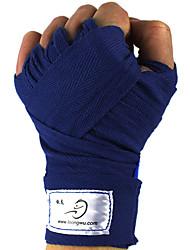 Faixa para as Mãos para Boxe Arte Marcial Muay Thai Sanda Karatê Unissex Protecção Apoio conjunto Respirável Ajustável Algodão