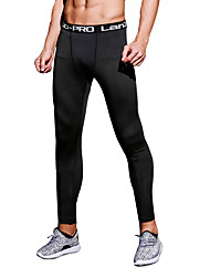 Men's Running Bottoms Breathable Comfortable Spring Summer Fall/Autumn Winter Exercise & Fitness Racing Basketball Japanese Cotton Spandex