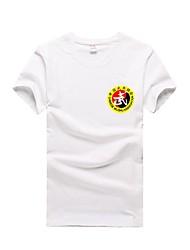 Taekwondo verão de mangas curtas de algodão t-shirt