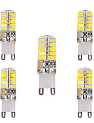 3W G9 G4 E12 E17 Luces LED de Doble Pin T 40 SMD 5730 200-300 lm Blanco Cálido Blanco Fresco Decorativa V 5 piezas