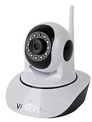 Veskys® 720p hd wi-fi surveillance de sécurité caméra ip w / 1.0mp moniteur à distance de téléphone intelligent