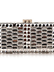 L.west woman fashion exquisite luxury diamonds evening bag