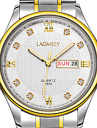 Masculino Relógio de Moda Chinês Quartzo Lega Banda Prata