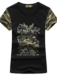Femme Tee-shirt Camping / Randonnée Pêche Respirable Séchage rapide Eté