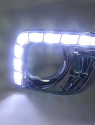 2009-2013 год toyo-ta prado led drl kit белый цвет
