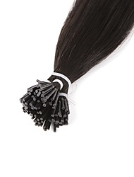 Neitsi High Quality 28'' 25g/lot 1g/s I Tip Hair Extensions 100% Straight Remy Human Hair 1B#