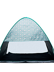 2 persons Tent Single Automatic Tent One Room Camping Tent Stainless Steel Portable-Camping Traveling