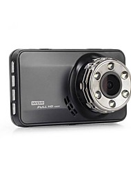 Car DVR Full HD Novatek Car Camera Recorder Black Box 140Degree 4G Lens Supper Night Vision Dash Cam