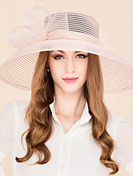 Feather Tulle Headpiece-Wedding Special Occasion Casual Fascinators Hats 1 Piece