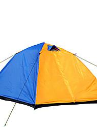 2 Personen Zelt Doppel Automatisches Zelt Zwei Zimmer Camping Zelt 1000-1500 mm Glasfaser OxfordFeuchtigkeitsundurchlässig Wasserdicht