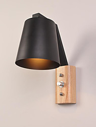 Ac 220-240 e27 característica de acabamento de óxido preto país moderno / contemporâneo para luz de parede de apliques de parede