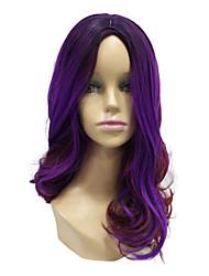 Perruque de cheveux cosplay à deux tons synthétique synthétique synthétique