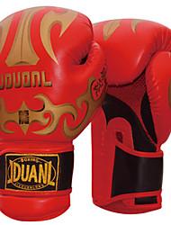 Boxing Gloves for Boxing Full-finger Gloves Protective Nylon Leather Red Black White