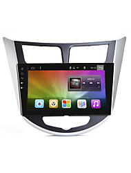 Bonroad 9quad core 1024 * 600 android 6.0 carro dvd gps player para solaris verna acento carro pc headunit carro rádio vídeo player