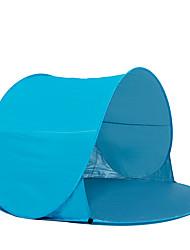 COME 2 Personas Tienda Tienda de playa Solo Carpa para camping Tienda pop up Portátil Resistente a los UV para Camping Viaje CM Una