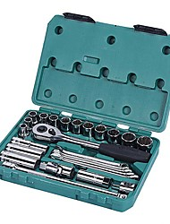 SATA® 09506 25PC 12.5mm Professional Wrenches Tool Set with Tool Box