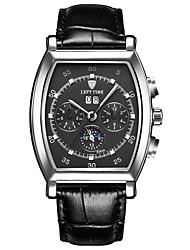 Tevise Men's Couple's Fashion Watch Mechanical Watch Quartz Calendar Water Resistant / Water Proof Luminous Stainless Steel BandVintage