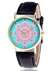 Ladies Fashion Flower Quartz Watch Women Leather Casual Dress Women's Watch Reloje Mujer Montre Femme