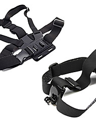 Chest Harness Front Mounting Foldable Adjustable All in One Convenient ForAll Gopro Xiaomi Camera Gopro 4 Session Gopro 4 Black Gopro 4
