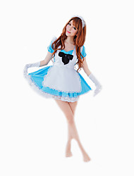 Costumes de Cosplay Costume de Soirée Bal Masqué Cinderella Tenus de Servante Fête d'Octobre/Bière Cosplay Serveur / ServeuseCosplay de