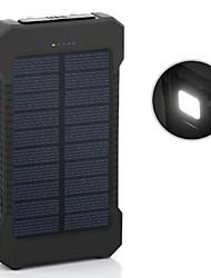 der neue 6000mAh ddual-usb Solar mobilen Strom angetrieben