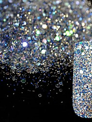 10g Super Bright Glitter Sequins Mixed Nail Decorations