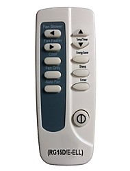Sencond Generation! Replacement for Frigidaire Air Conditioner Remote Control RG15D/E-ELL