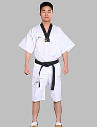 Cho Cotton Adult Children Doboks Short Sleeved Men And Women Taekwondo