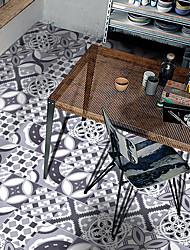 Estilo europeu padrão decorativo a telha cerâmica colagem pvc decorativo auto-stick à prova de água do quarto e da sala de estar