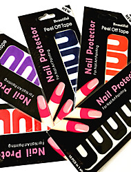5PC Gel Nail Polish Anti Overflow Equipment Nail Glue Overflow Prevent Forms Nail Art Tools Nail Art Equipment