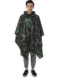 Creative Camouflage Fashion Raincoats Cloak Adult Raincoat Waterproof Outdoor Racing Raincoats Free size