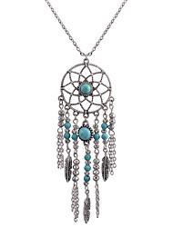 Femme Pendentif de collier Attrapeur de Rêve Alliage Mode Bohême euroaméricains bijoux de fantaisie Bijoux Pour Quotidien