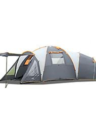 LYTOP/飞拓 > 8 pessoas Tenda Duplo Tenda Dobrada Mais de 4 Quartos Barraca de acampamento Fibra de Vidro OxfordProva de Água
