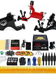Complete Tattoo Kit 3 rotary machine liner & shader 3 Tattoo Machines Inks Shipped Separately