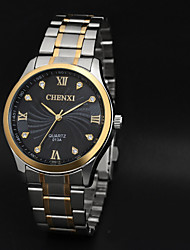 CHENXI® Men's Elegant Design Dress Watch Japanese Quartz Water Resistant Steel Strap Cool Watch Unique Watch Fashion Watch