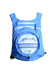 Pacotes de Mochilas Mochila para Acampar e Caminhar Montanhismo Viajar Bolsas para Esporte Compacto Bolsa de Corrida 15Roxo Amarelo Azul