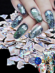 1PC DIY Japanese Nail Art Act  5 g Pack Natural Ultra-Thin Big Shell Piece Abalone Shell