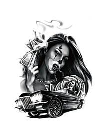 Tattoo Stickers Others Non Toxic WaterproofWomen Men Teen Flash Tattoo Temporary Tattoos