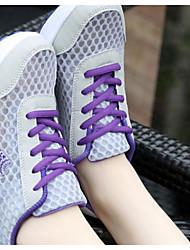 Chaussures de sport pour femmes Spring comfort pu casual purple