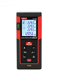 Unidade ut393a handheld medidor de distância digital de 120m 635nm com distância&Medição de ângulo (1,5 aaa baterias)