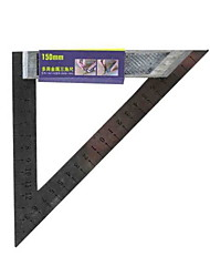 Great Wall® 150mm Metal Multifunctional Triangle Ruler Tool