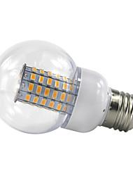 4.5W E27 Круглые LED лампы 69 SMD 5730 420 lm Тёплый белый Холодный белый V 1 шт.