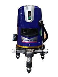 Deke® 3 Line 530nm Infrared Blue Laser Marking Instrument Leveling Line Laser